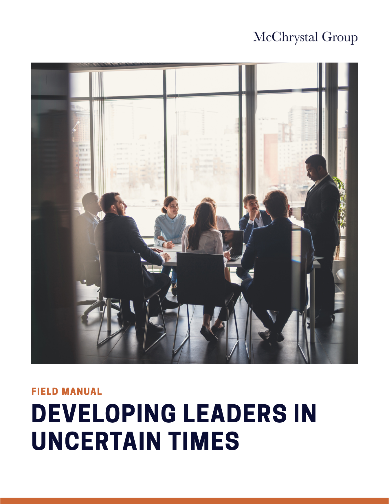Preview of Developing Leaders in Uncertain Times